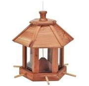 Hi HI Vogelvoederhuisje hangend bruin