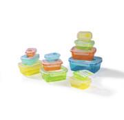 Gourmet MAXX Klick-it voedsel opslag containers, 24 stuks