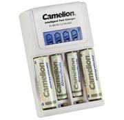 Camelion Plug-in snellader, 2 x AA + 2 AAA batterijen
