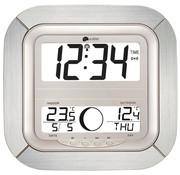 La Crosse La Crosse - Dcf-Klok Met Maanfases, Kalender & Temperatuur