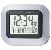 La Crosse Dcf-Klok Met Kalender En Temperatuurweergave