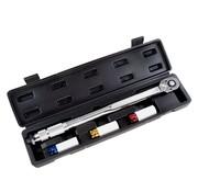 Hanse Werkzeuge Hanse Werkzeuge Momentsleutel 3 doppen 17/19/21 - 40 tot 210 nm - 1/2 inch