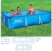 Bestway Bestway Frame Zwembad Deluxe Splash Steel Pro™ 300x201x66cm