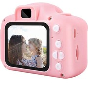 Alveru Alveru Digitale Kindercamera roze - Met videofunctie - Incl. handig keycord