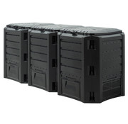 Generic Generic Compostbak zwart 1200L 198x72x83cm