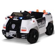 HOMdotCOM HOMdotCOM Kinderauto kindervoertuig met afstandsbediening elektrische auto politieauto MP3 PP