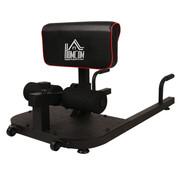 HOMdotCOM HOMdotCOM Beentrainer squats buik billen trainer sissy squat verstelbaar rolbaar