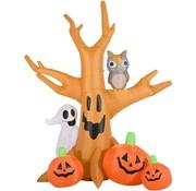 HOMdotCOM HOMdotCOM Opblaasbare Halloween-decoratie opblaasfiguur ledverlichting  - 2,40M