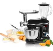 LUND LUND Keukenmachine mixer 3in1 - 1000W - 240V -  6 snelheden en turbofunctie