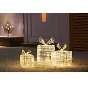 Nampook Nampook Kerstverlichting Geschenkdozen - 90 LED - 3 stuks met verschillende maten