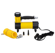 EDCO Dunlop Mini Compressor - 12V - Incl. 3 Adapters - via Sigarettenaansteker