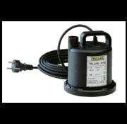Tallas Tallas Vlakke onderwaterpomp E 160 NA, vlakke aanzuiging tot 3 mm, 90 Watt