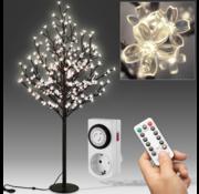 DBA DBA Kersenbloesemboom 180cm met 200LED's voor binnen en buiten incl. afstandsbediening en timer