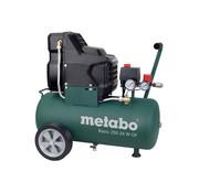 Metabo Metabo Basic 250-24 W OF olievrij compressor - 1500W - 8 bar - 24L - 100 l/min