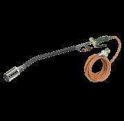 Eurom Weedburner XXL onkruidbrander met 5 m. gasslang, drukregelaar en Piezo ontsteking