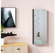 Casaria Casaria Sieradenkast zwart 31,5x9x110cm hangend
