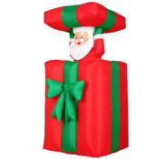 Deuba Deuba Kerstman in opblaasbaar cadeau