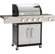 Grillchef by Landmann Grillchef by Landmann Triton 4.1 zilver gasbbq - Gasbarbecue - Barbecue - BBQ - Geschikt voor 12 personen