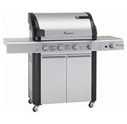 Grillchef by Landmann Grillchef by Landmann Gasbarbecue - BBQ - Barbecue -gasbbq - Triton maxX PTS 3.1 in RV - LED-verlichte bedieningsknoppen - Geschikt voor 12 personen