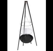 LUND LUND Grill hangend op statief - 52cm
