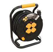 RELECTRIC RELECTRIC Kabelhaspel PRO - 25m - 4 stopcontacten