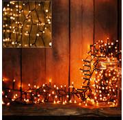 Deuba Deuba Kerstboomverlichting - Kerstverlichting - Feestverlichting - Warm Wit- 4m - inclusief Timer