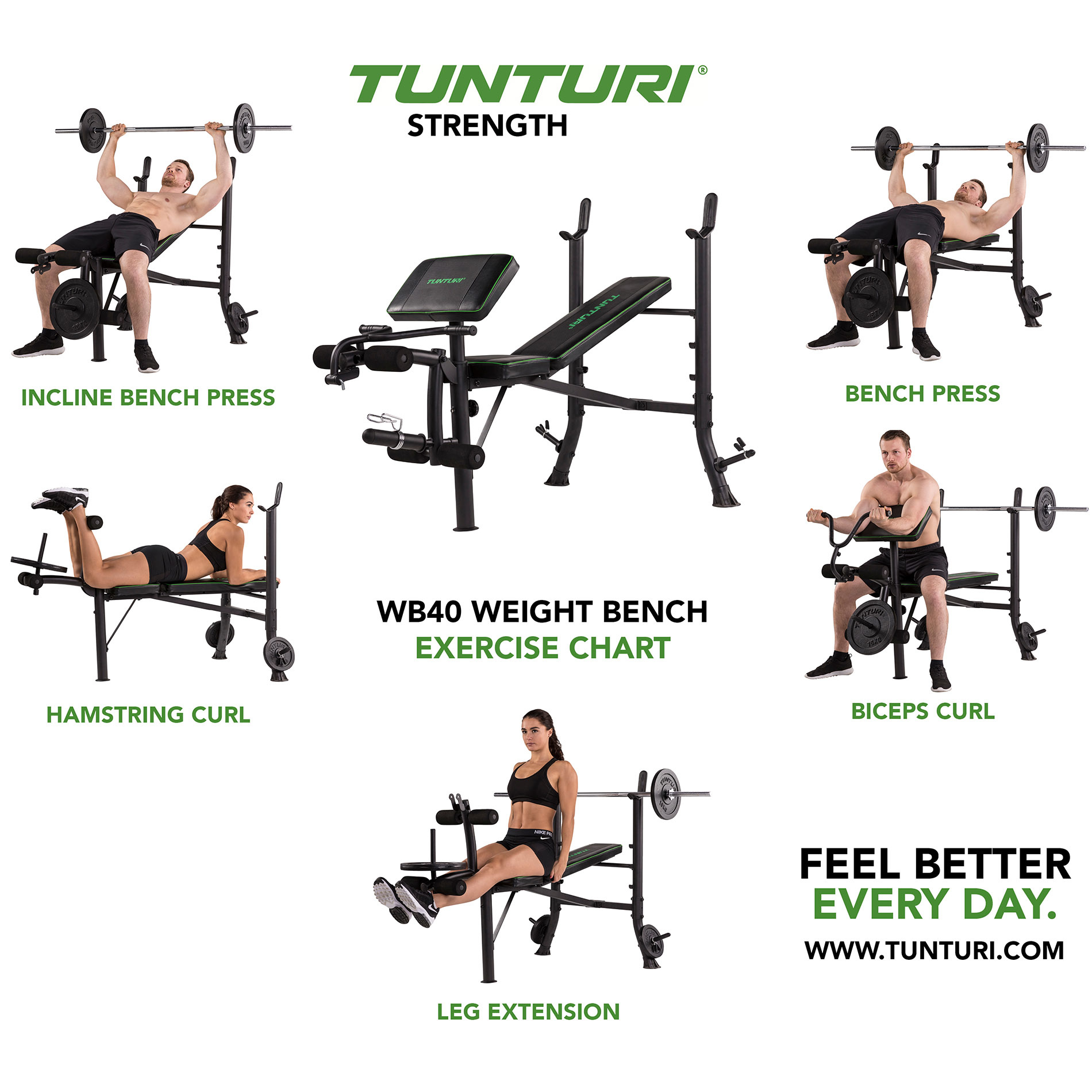 Fantastic Tunturi Weight Bench Wb40 Gmtry Best Dining Table And Chair Ideas Images Gmtryco