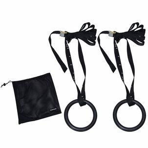 Gymnastic rings kunststof - Ø 23cm - inclusief riem