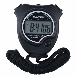 Basis - Stopwatch - Digitale Stopwatch - Sport stopwatch - Grote Display - Zwart
