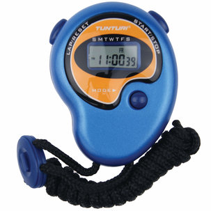 Basis - Stopwatch - Digitale Stopwatch - Sport stopwatch - Blauw