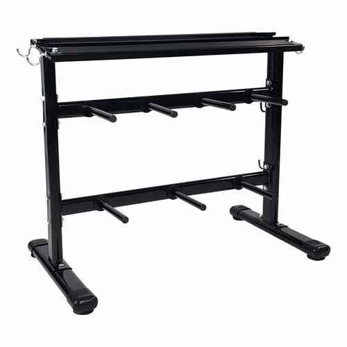 Dumbbell rek - Halterrek - Gewichtenrek en Halterschijven standaard - Ø 30 mm
