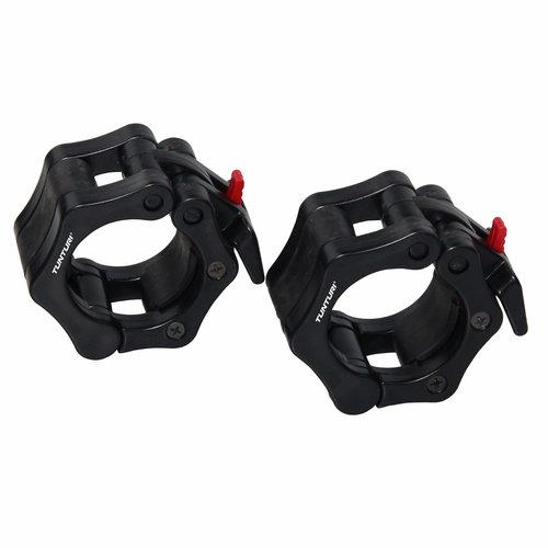 Olympic Lock Jaw Collars - Halterstangsluiters - Paar - Zwart