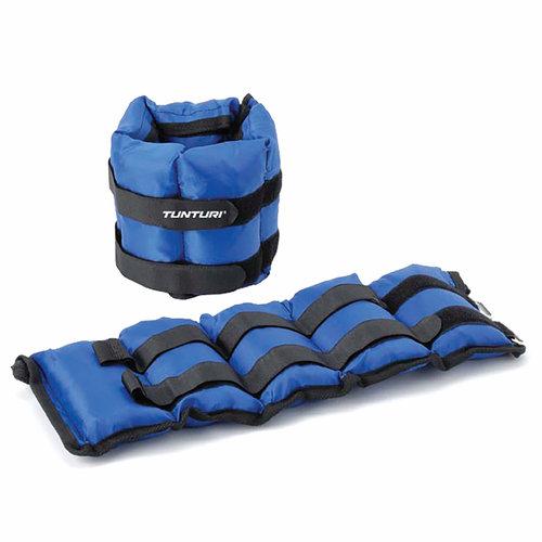 Variabel Enkelgewichten en Polsgewichten - 2x 2,25 kg - Blauw