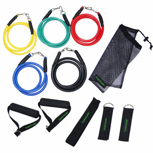 Exercise Multifunction Resistance Tubing Set