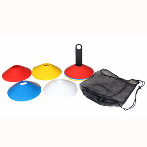 Sport markeringspionnen set - 40 stuks met houder