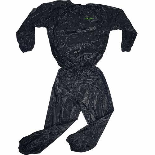 Zweetpak -Sauna Suit - Sauna pak - Zwart