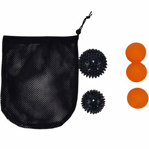 Massage Ball Set, 4 Balls