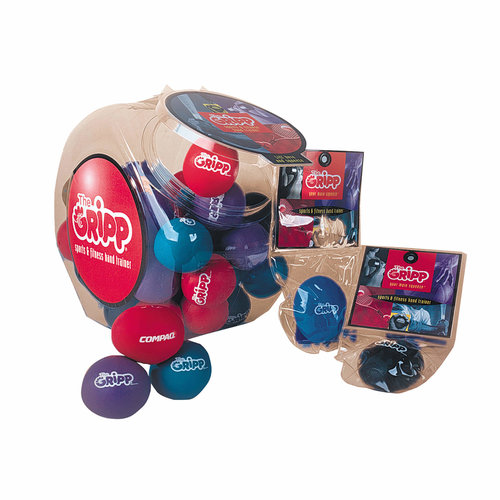 The Gripp II Stressballs, Box 40pcs Ass