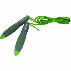 Digitaal Springtouw - Met Teller - Grijs/Groen