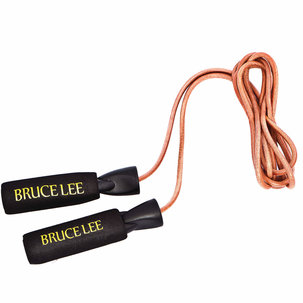 Bruce Lee Leather Skipping Rope