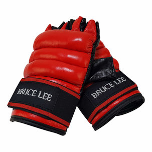 Bruce Lee Allround Free Fight handschoenen - MMA Handschoenen - PU (S/M - L/XL)