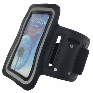 Sport Telefoonarmband - Smartphone armband Zwart