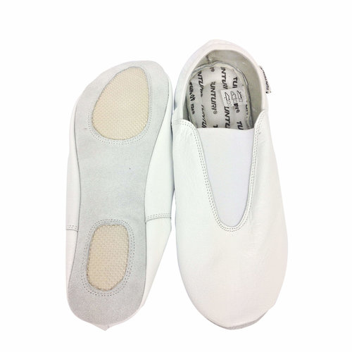 Gym Shoes 2pc Sole White