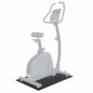 Hometrainer mat - Vloerbeschermmat - 100 x 70 x 0,5 cm - Zwart