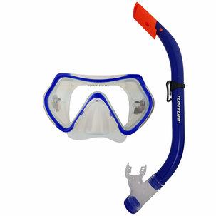 Snorkelset -Duikbril en Snorkel - Junior - Blauw