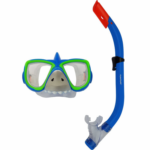 Kinder snorkelset - Duikbril en snorkel - Haai