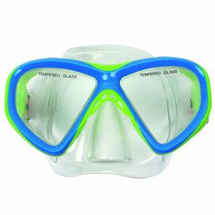 Diving Mask Junior Siliter Blue/Green