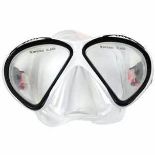 Diving Mask Senior Siliter Black/White