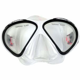 Diving Mask Senior Siliter Black/White