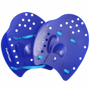 Hand Paddles - Handzwemvliezen - Blauw (S - L)